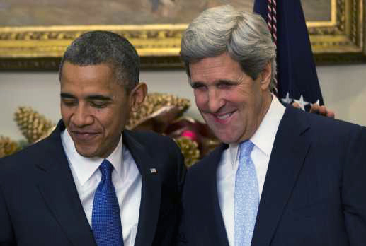 President Obama and Secretary of State Kerry Champion Appeasement in Nuclear Deal with Terrorist Iran
